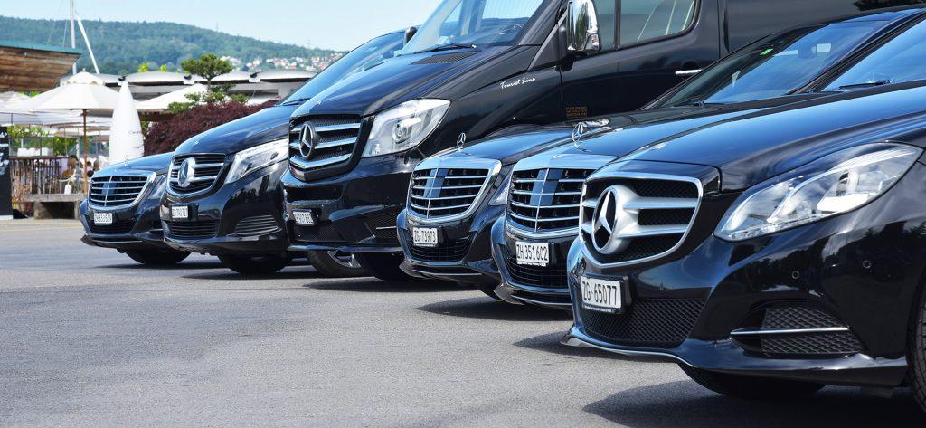 mercedes limo fleet