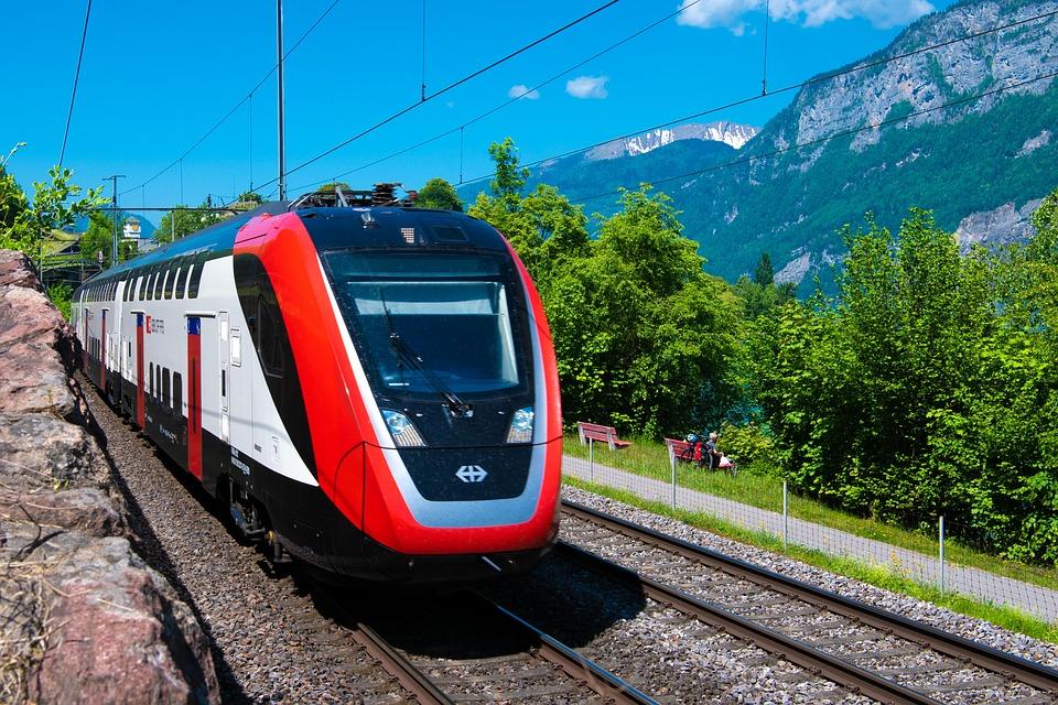 swiss passanger train transportation