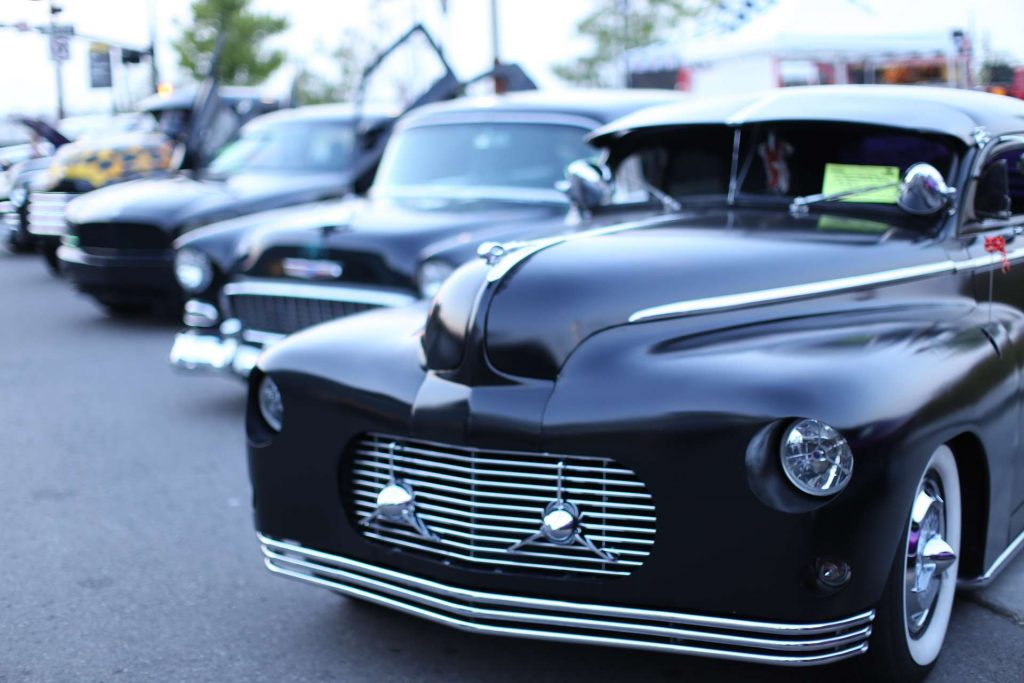 vintage luxury vehicles