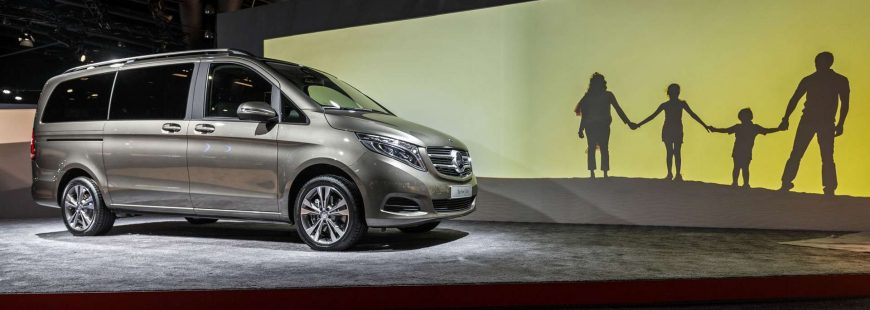 mercedes v class - luxury cars - luxury van