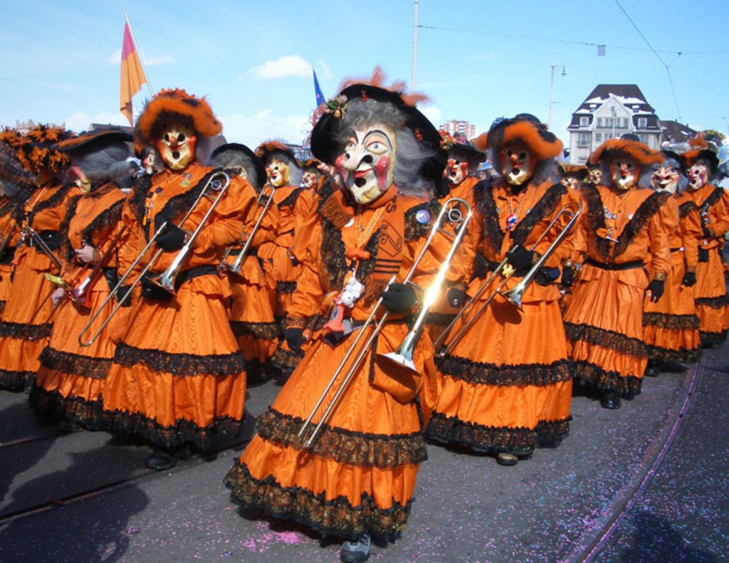 fasnacht - carnival - basel - holidays in switzerland