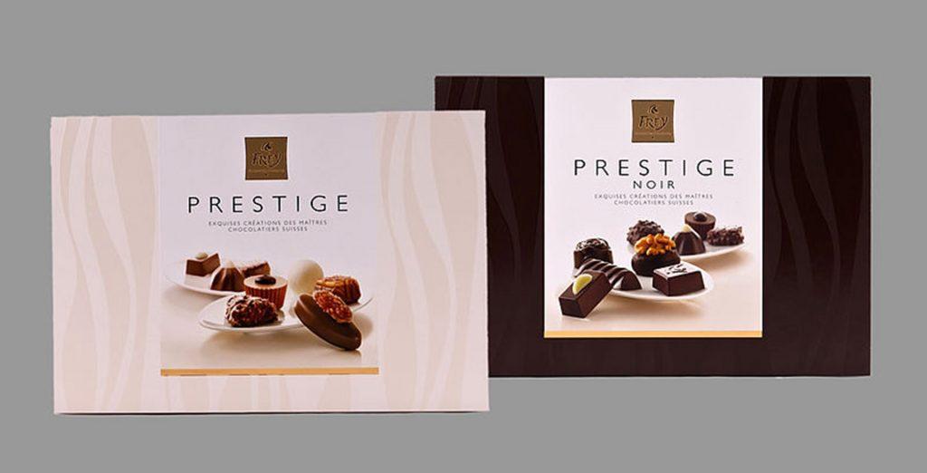 frey prestige pralines - chocolate pralines