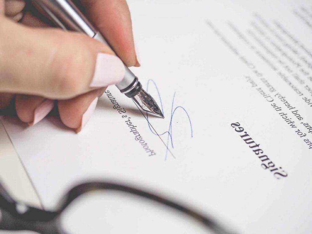 paper - document - signature - hand - finger - pen - paperwork - contract