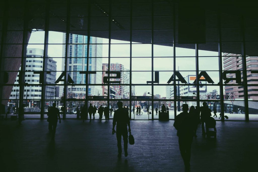 airport terminal - airport transfers